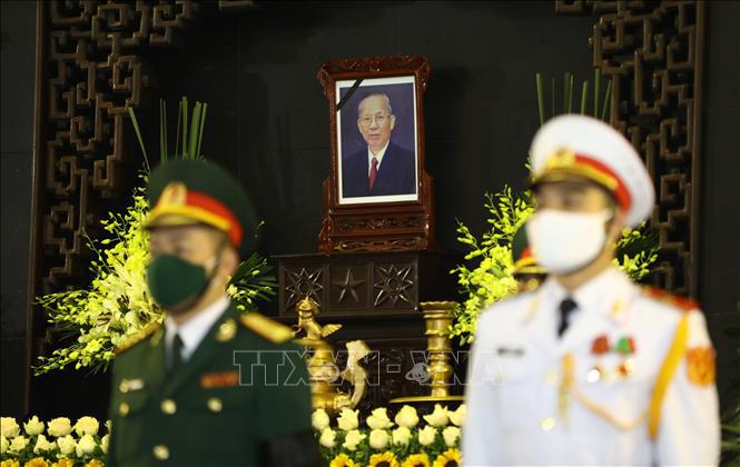 Ảnh: Lễ viếng nguyên Phó Thủ tướng Trương Vĩnh Trọng tại Hà Nội - Ảnh 2.