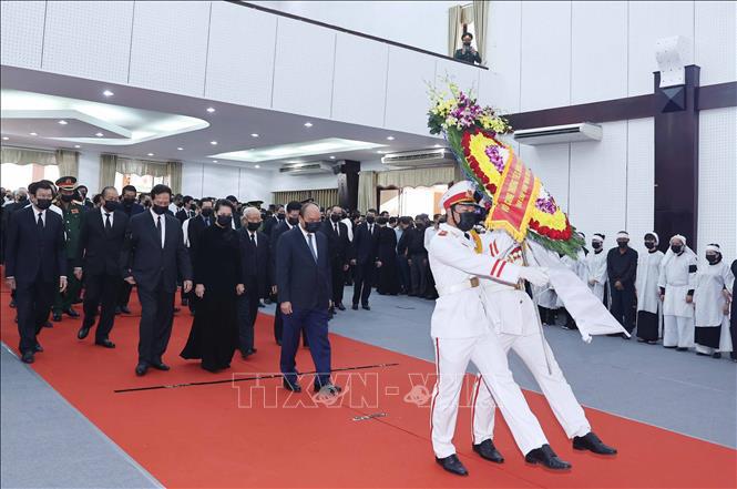 Lễ viếng đồng chí Trương Vĩnh Trọng tại Bến Tre - Ảnh 1.