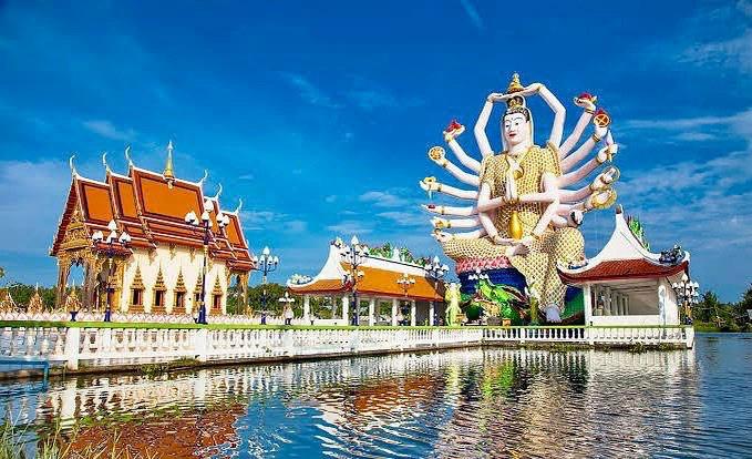 Đền Wat Plai Laem – ngôi đền sở hữu pho tượng Phật Bà Quan Âm 18 tay vô cùng độc đáo - Ảnh 5.