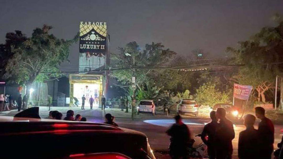 Nghi phạm đâm 8 người thương vong tại quán karaoke ở Hòa Bình: Đã xác định danh tính - Ảnh 1.