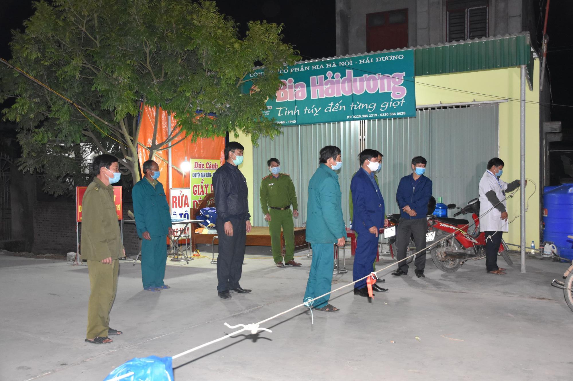 Hải Dương: Gỡ bỏ cách ly y tế 13 thôn, khu dân cư  - Ảnh 1.