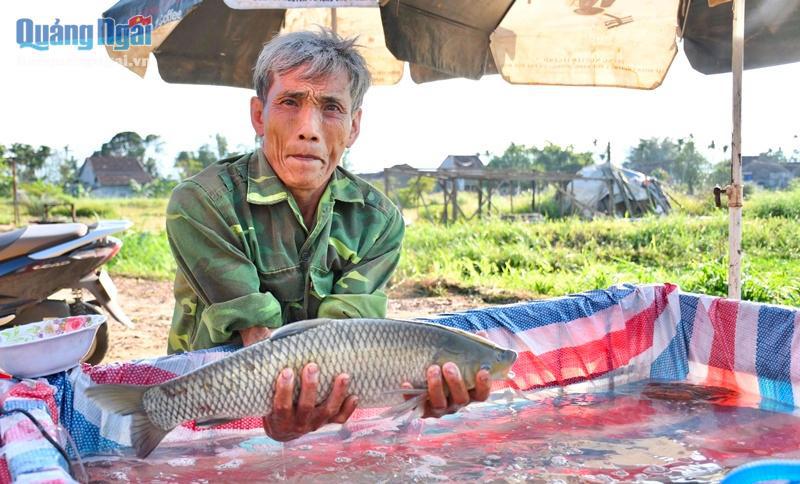 Nuôi loài cá ngon, sạch nổi danh trên sông Trà Khúc, nông dân ở đây mặt ai cũng rạng rỡ vì có thu nhập khá - Ảnh 6.