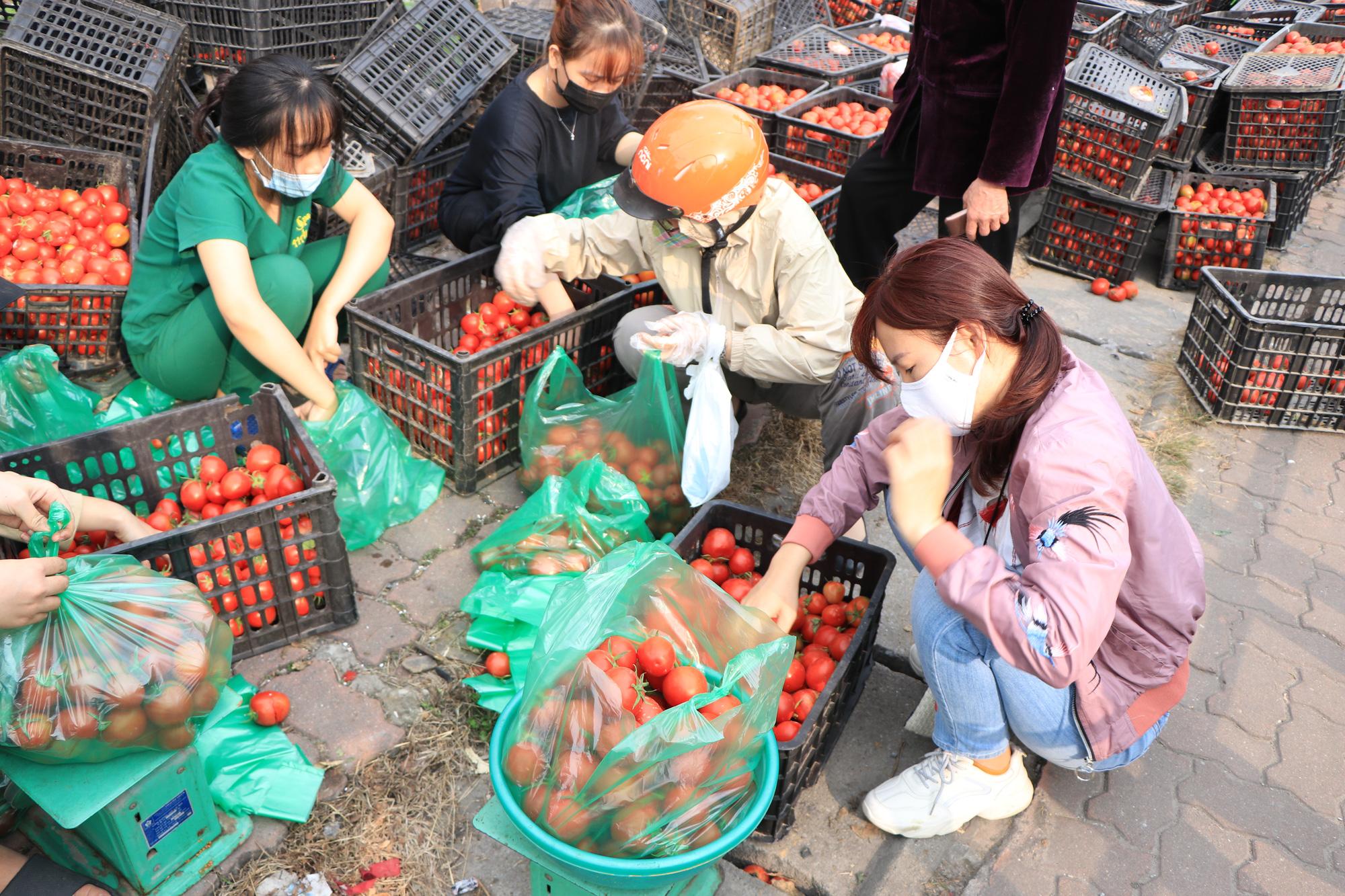 Người Hà Nội trắng đêm giải cứu 50 tấn hàng nông sản giúp bà con vùng dịch Hải Dương - Ảnh 16.