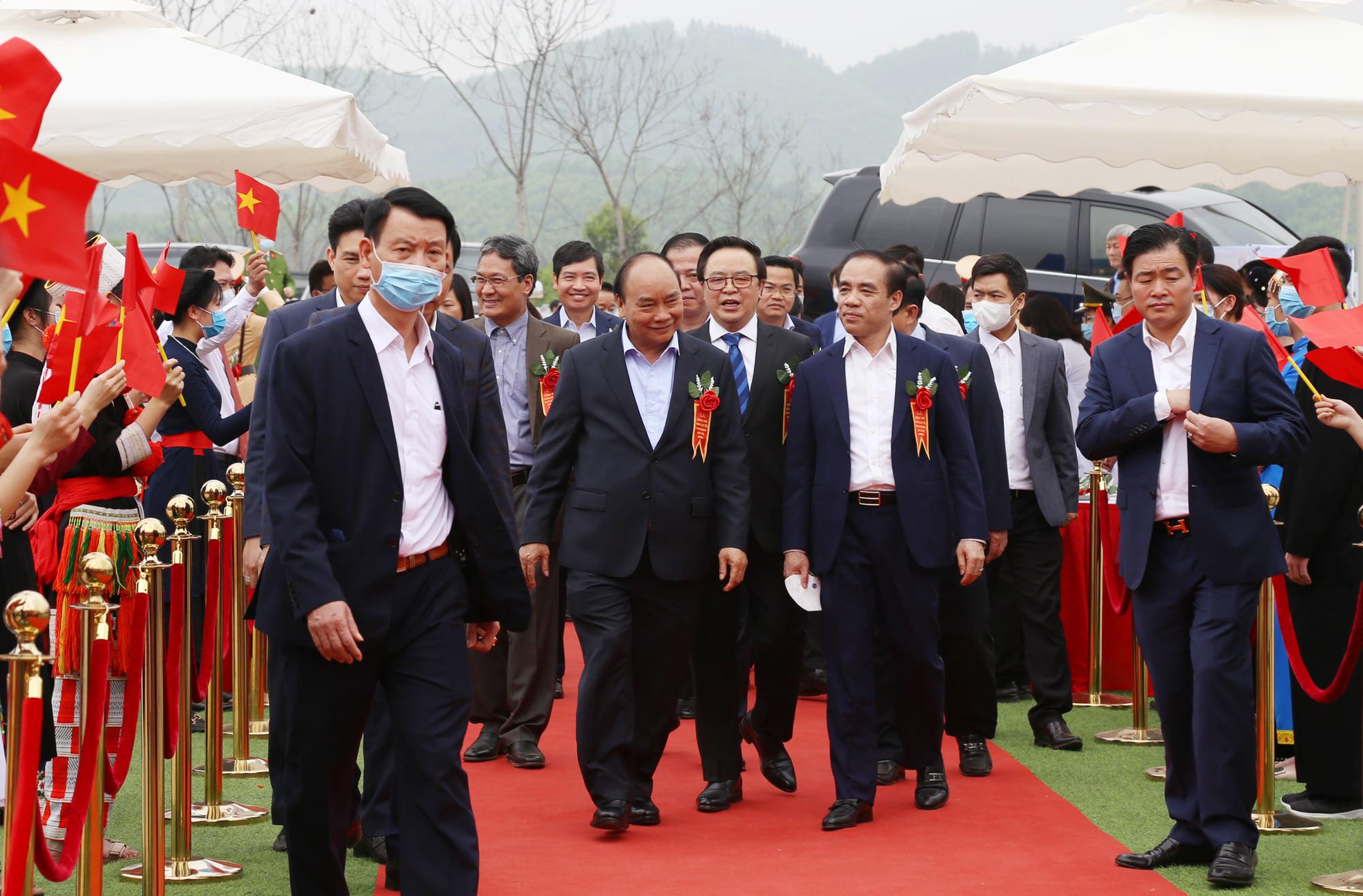 Động thổ cao tốc Tuyên Quang - Phú Thọ - Ảnh 1.