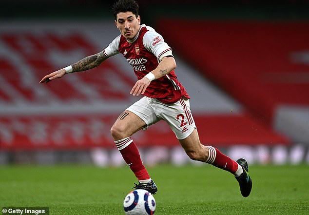 Bellerin đang ở mùa giải thứ 10 ở Arsenal.