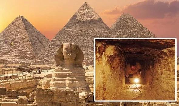 Khám phá ra bí ẩn của đại kim tự tháp lừng danh của Ai Cập - Ảnh 1.