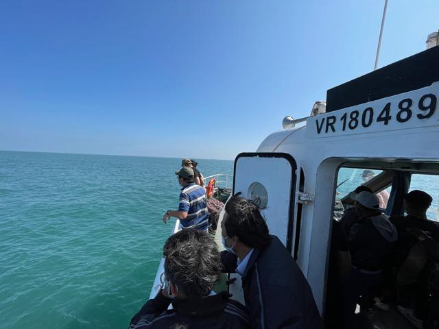 Quảng Ngãi: Cần chấn chỉnh thời gian xuất bến tùy hứng của tàu khách Lý Sơn  - Ảnh 2.