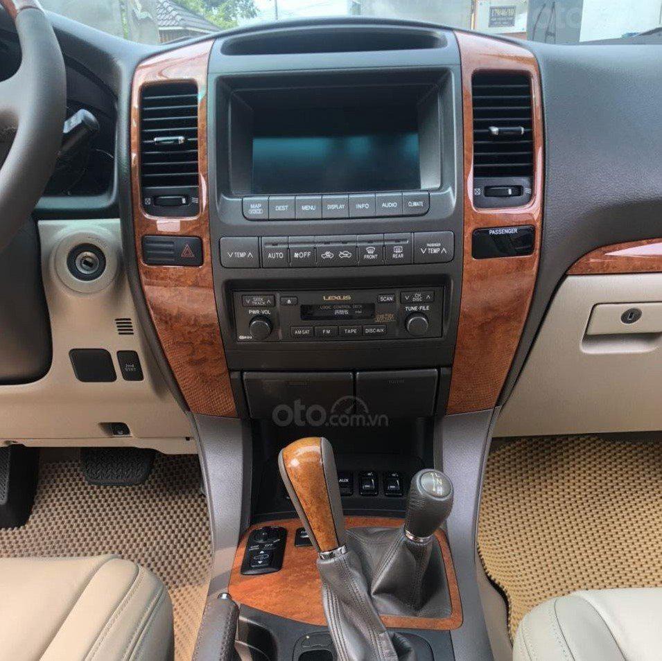 Bảng điều khiển trung tâm trên xe Lexus GX 470 2007 1