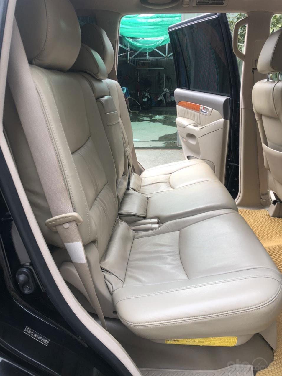 Không gian hàng ghế sau xe Lexus GX 470 2007 1