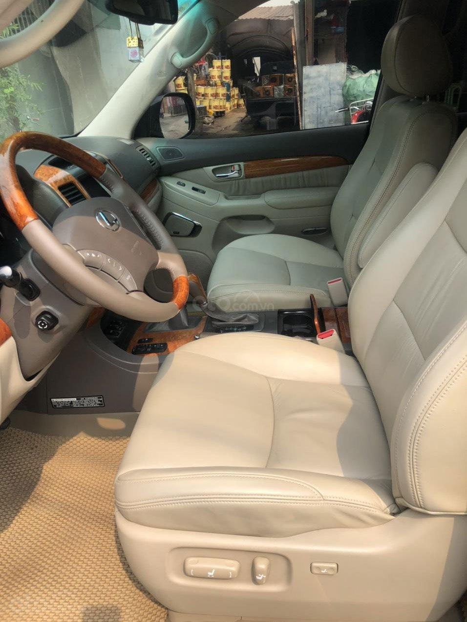 Không gian hàng ghế trước xe Lexus GX 470 2007 1