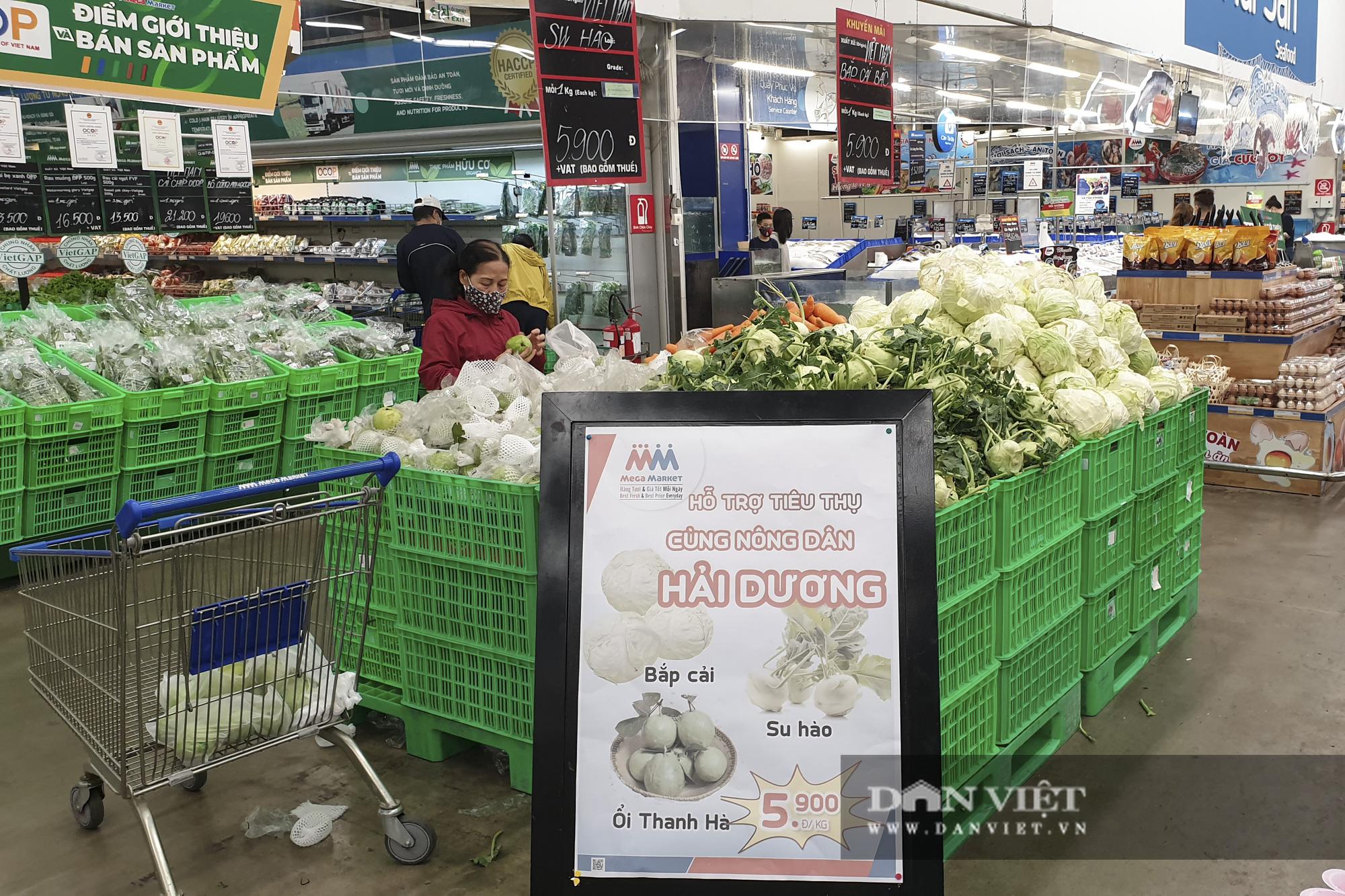 Nhiều hệ thống siêu thị Hà Nội bắt đầu bán nông sản Hải Dương - Ảnh 1.