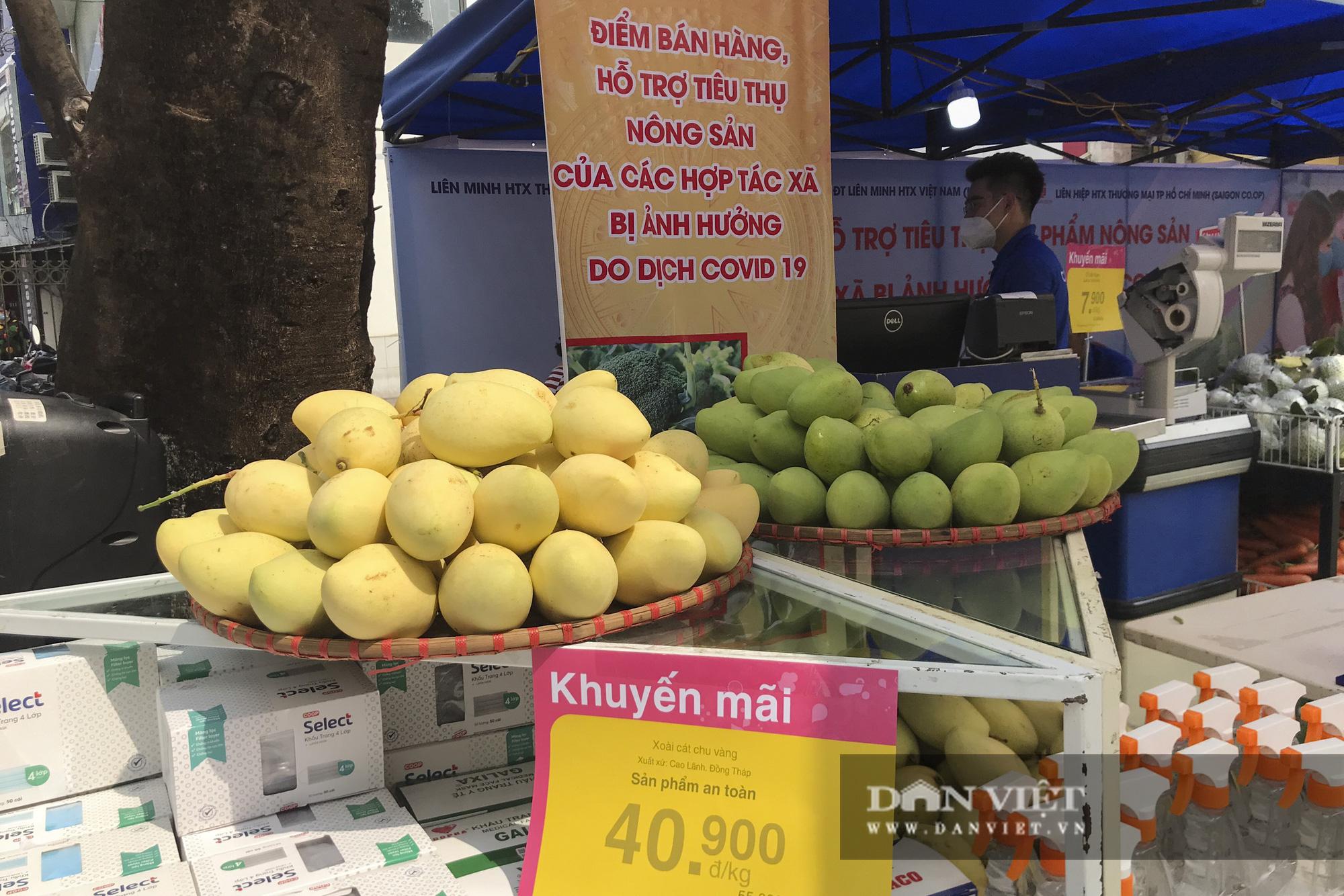 Nhiều hệ thống siêu thị Hà Nội bắt đầu bán nông sản Hải Dương - Ảnh 10.