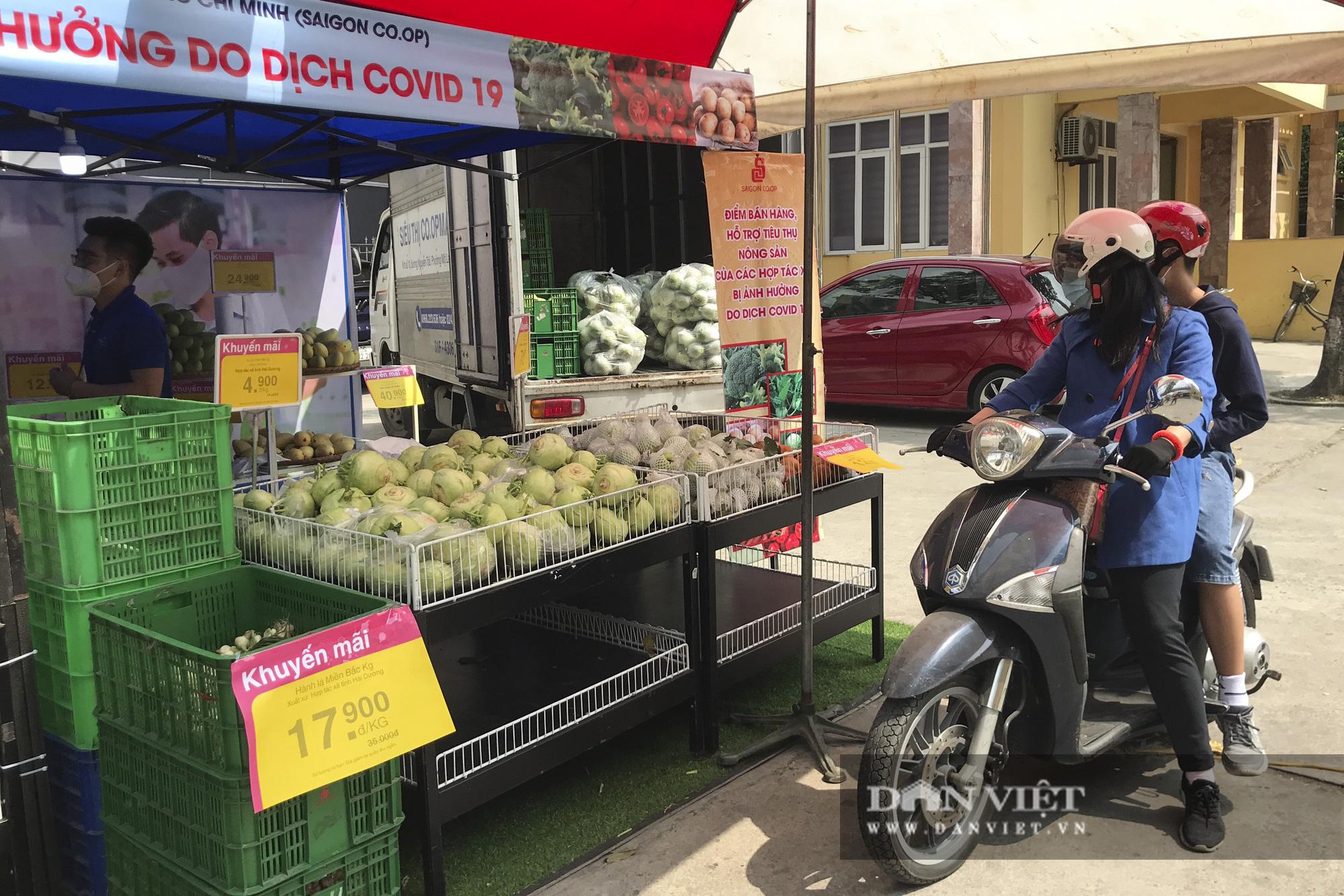 Nhiều hệ thống siêu thị Hà Nội bắt đầu bán nông sản Hải Dương - Ảnh 11.