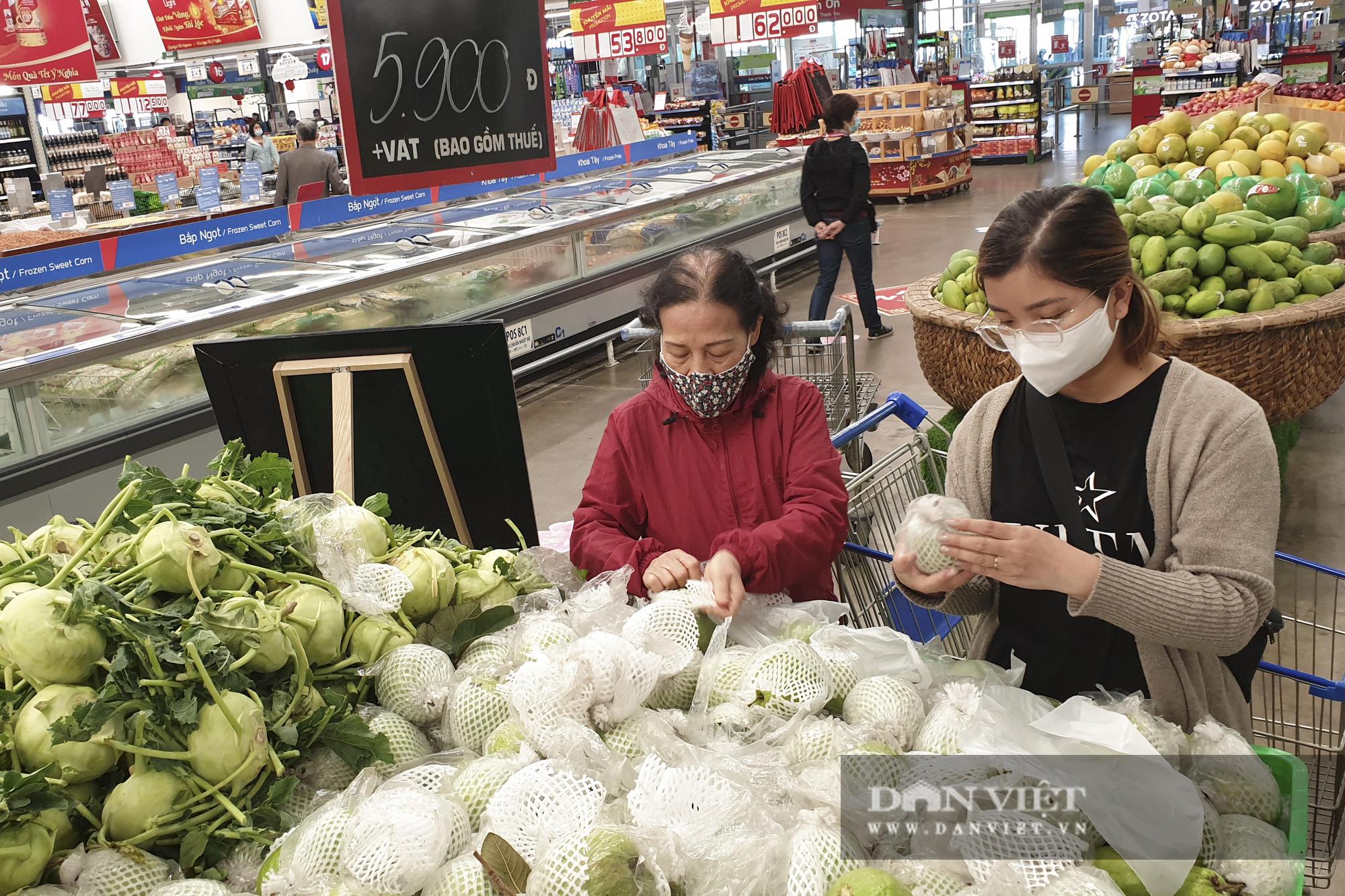 Nhiều hệ thống siêu thị Hà Nội bắt đầu bán nông sản Hải Dương - Ảnh 4.