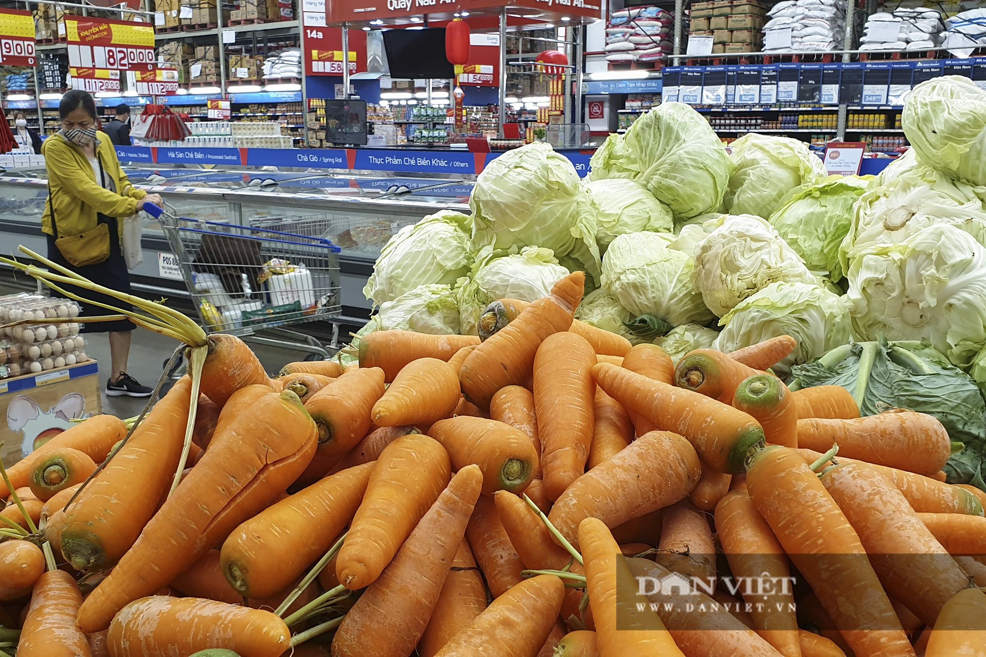 Nhiều hệ thống siêu thị Hà Nội bắt đầu bán nông sản Hải Dương - Ảnh 6.