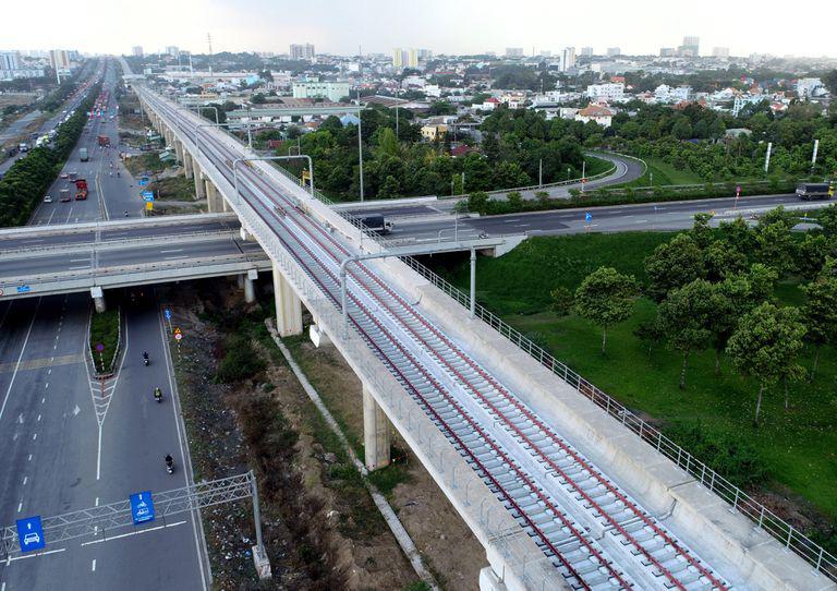 Một Ngân hàng Hàn Quốc muốn đầu tư đường sắt metro số 5 TP Hồ Chí Minh - Ảnh 1.