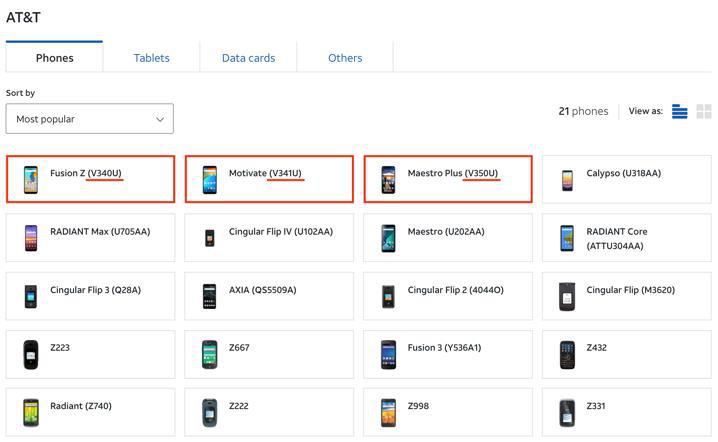 Nhiều mẫu điện thoại do VinSmart sản xuất đã được bán rộng rãi tại Mỹ - Ảnh 1.