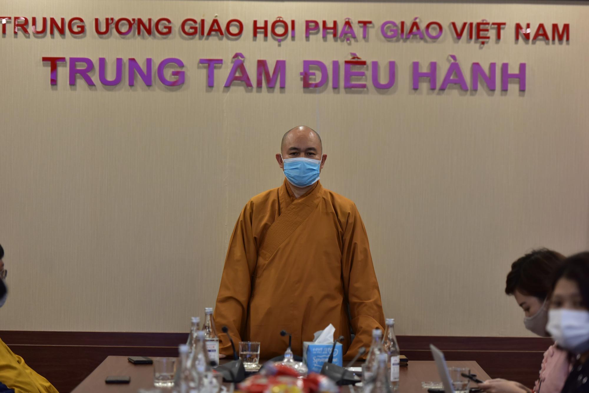 Giáo hội Phật giáo Việt Nam nói gì về cúng dường qua ví điện tử gây tranh cãi? - Ảnh 1.