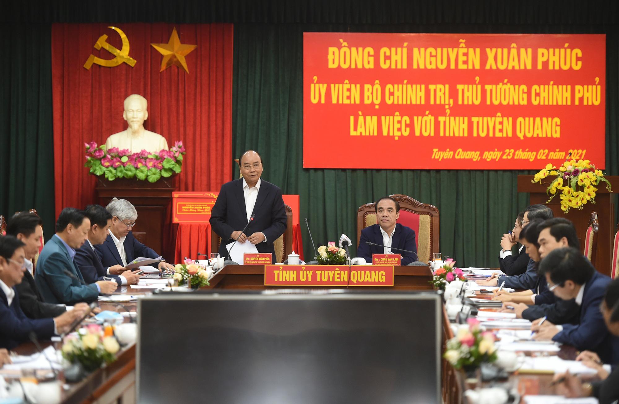 Thủ tướng: Tuyên Quang phải trở thành cứ điểm quan trọng của ngành gỗ Việt Nam - Ảnh 1.