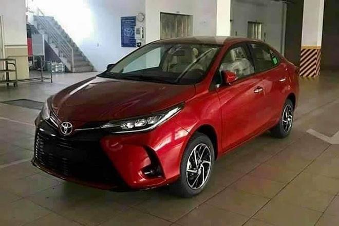 Toyota Vios 2021 giao xe sớm, có gì đặc biệt? - Ảnh 1.