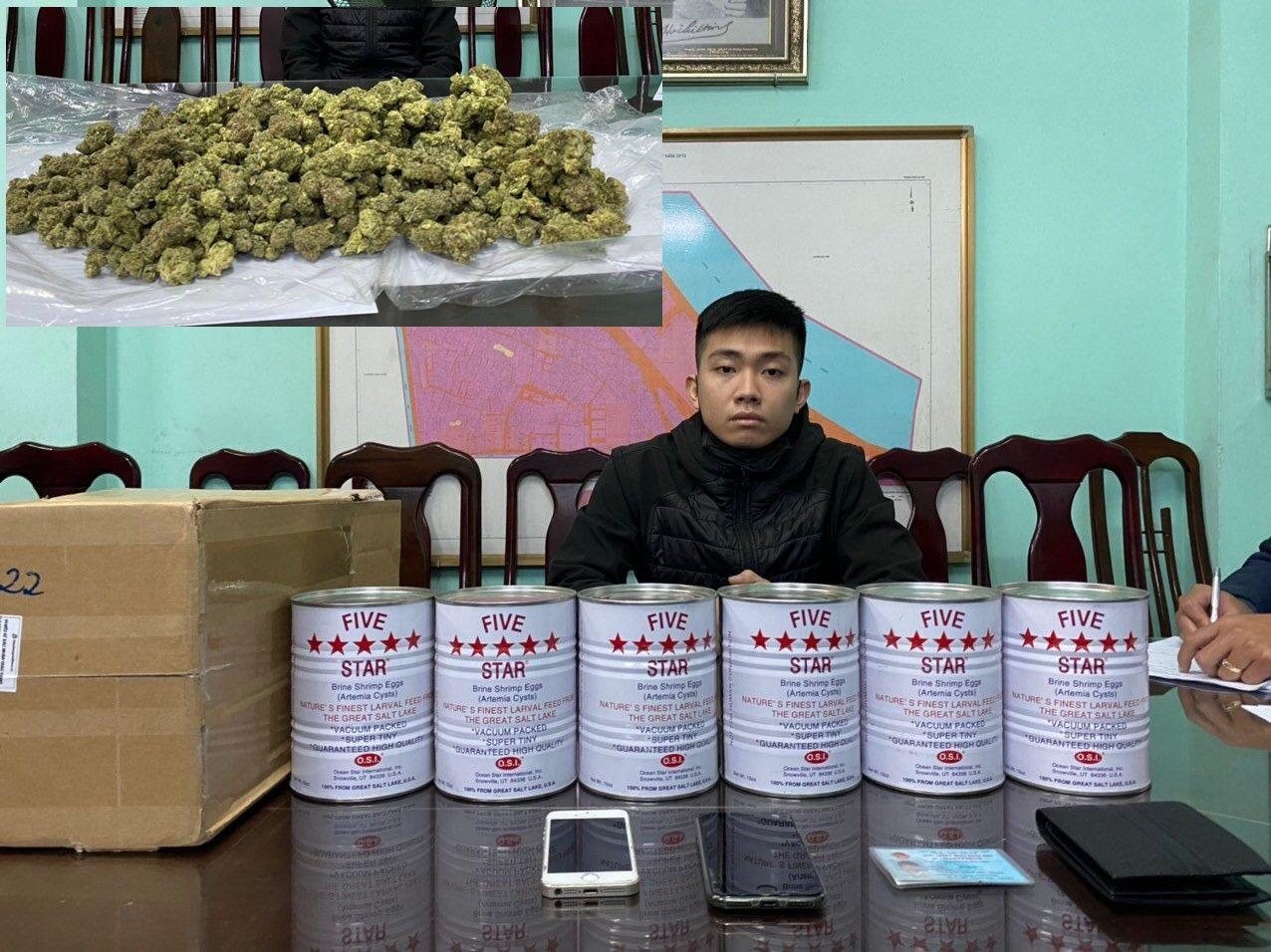 Chiêu trò vận chuyển ma túy bằng chuyển phát nhanh ở Hà Nội - Ảnh 1.