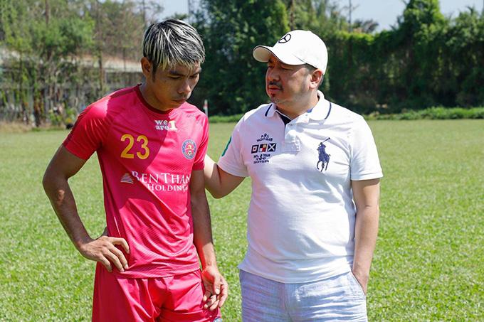 Cao Văn Triền khát khao nối gót Lê Công Vinh ở J.League 2 - Ảnh 1.