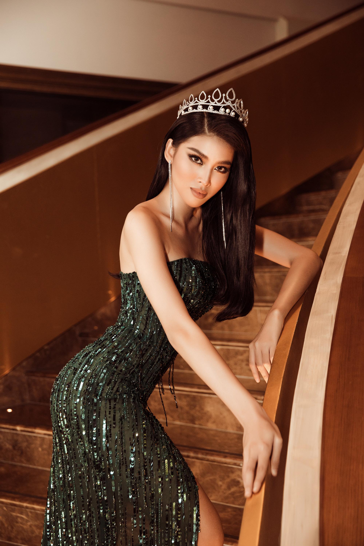 Á Hậu Ngọc Thảo đại diện Việt Nam thi Miss Grand International 2020 tái hiện màn cung đấu với Kiều Loan gây bão mạng - Ảnh 2.