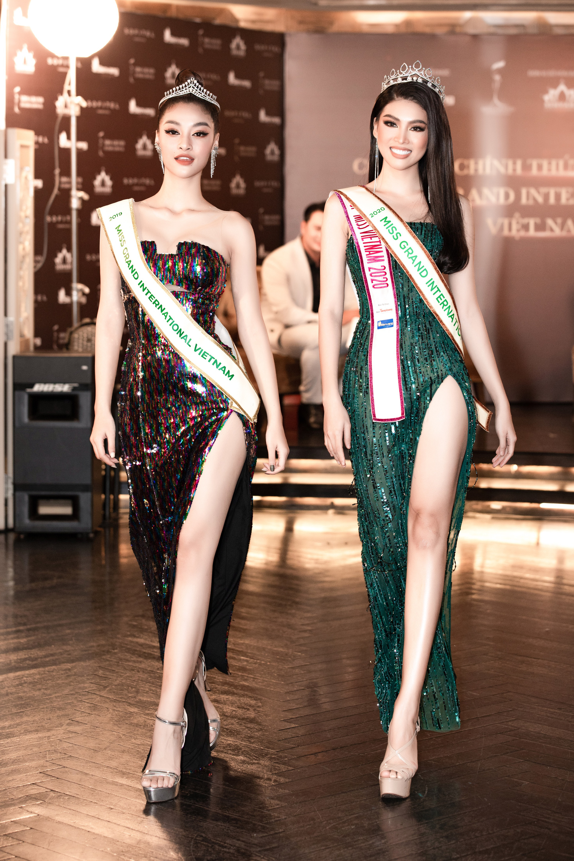 Á Hậu Ngọc Thảo đại diện Việt Nam thi Miss Grand International 2020 tái hiện màn cung đấu với Kiều Loan gây bão mạng - Ảnh 5.