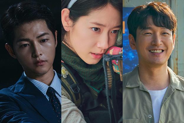 """Song Joong-ki, Cho Seung-woo, Park Shin-hye chiếm sóng loạt phim Hàn """"siêu phẩm"""" tháng 2 - Ảnh 1."""
