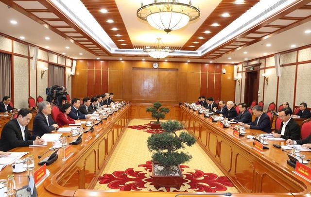 Dự kiến số Ủy viên Bộ Chính trị tham gia Quốc hội khóa mới sẽ giảm - Ảnh 1.