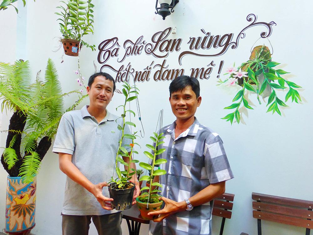 Hoa lan phi điệp đột biến 5 cánh trắng Phú Thọ trong vườn lan rừng của chàng trai An Giang, ai xem cũng trầm trồ - Ảnh 6.