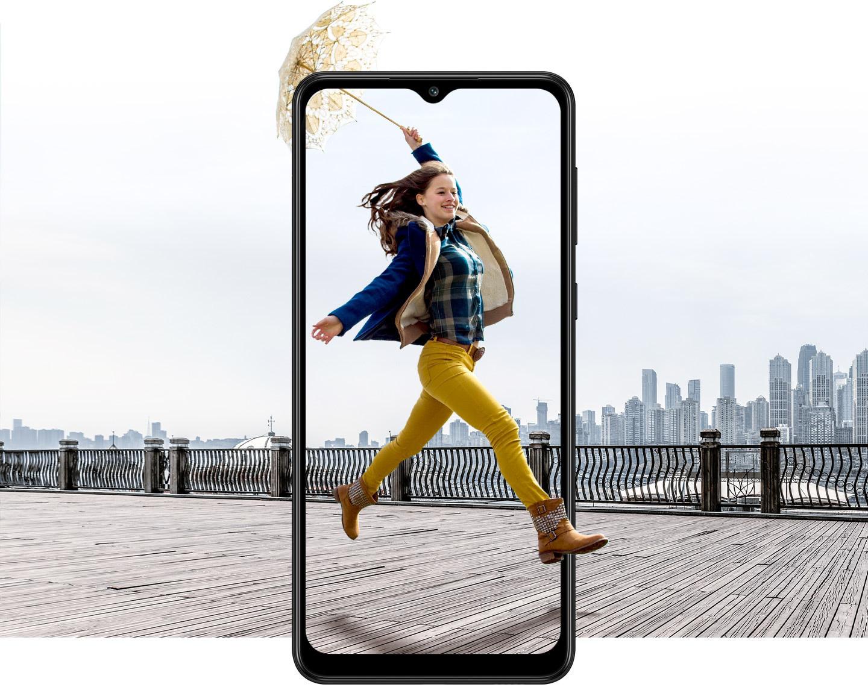 Điện thoại Samsung Galaxy M02 chỉ hơn 2 triệu, gây sốt ngay sau Tết - Ảnh 1.