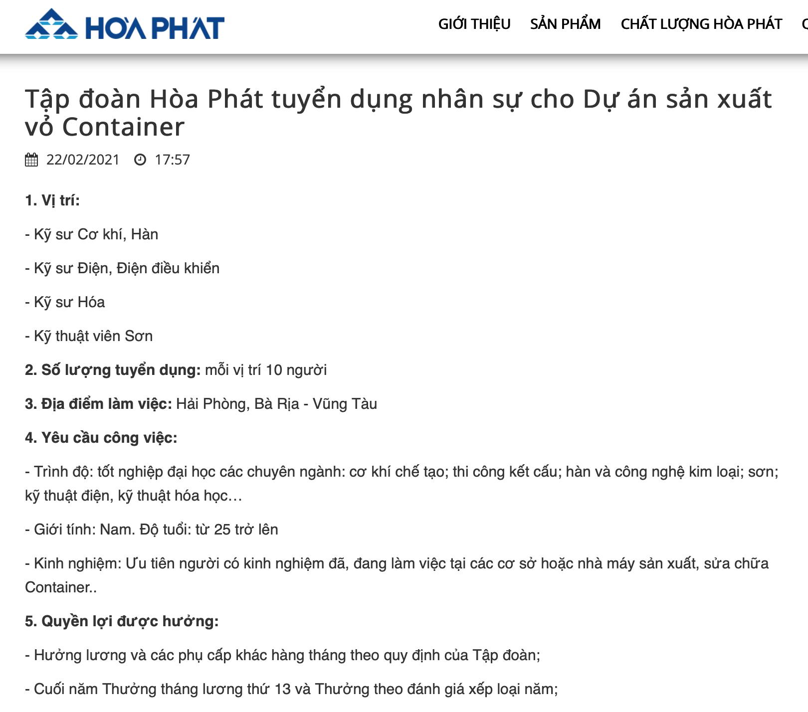"""Khan hiếm container rỗng, giá thuê tăng đột biến: Tỷ phú Trần Đình Long  """"nhảy vào"""" sản xuất container"""