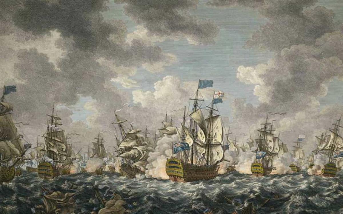 Top 10 trận chiến trên biển lớn nhất trong lịch sử thế giới - Ảnh 10.