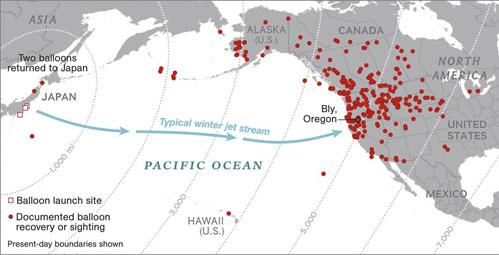 Bị phát xít Nhật dùng 9.000 quả bom khinh khí cầu oanh tạc, nước Mỹ kinh hoàng - Ảnh 2.