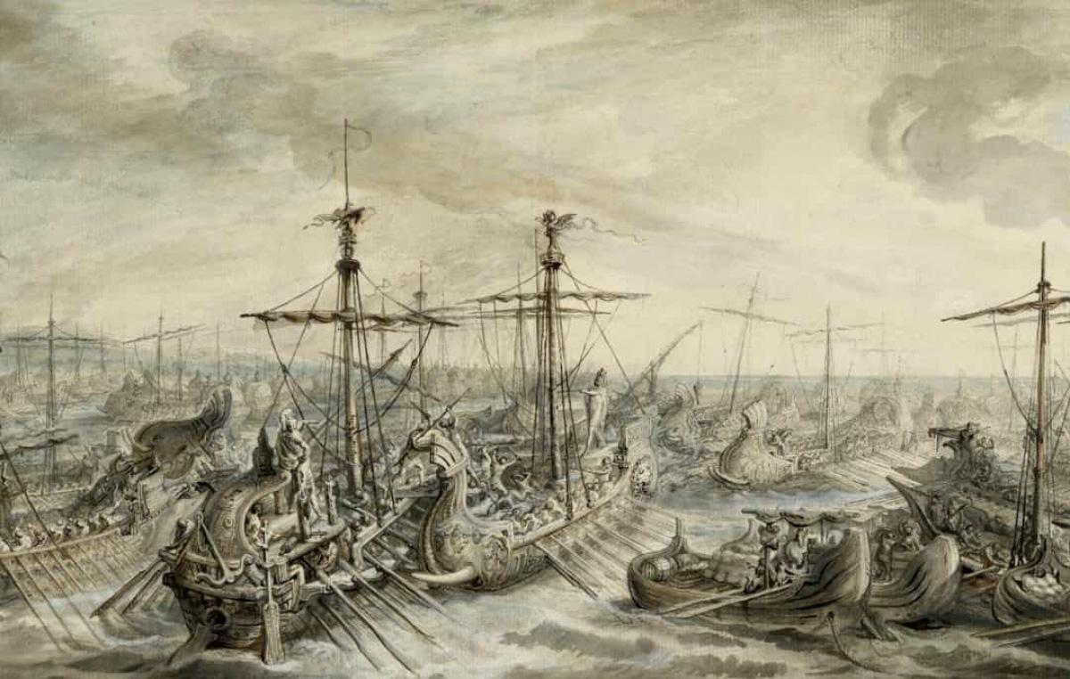 Top 10 trận chiến trên biển lớn nhất trong lịch sử thế giới - Ảnh 6.