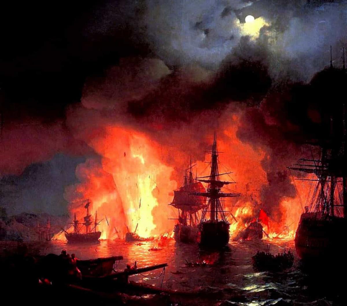 Top 10 trận chiến trên biển lớn nhất trong lịch sử thế giới - Ảnh 7.