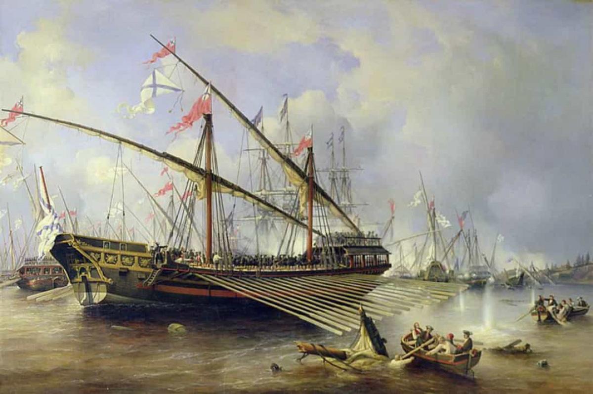 Top 10 trận chiến trên biển lớn nhất trong lịch sử thế giới - Ảnh 8.
