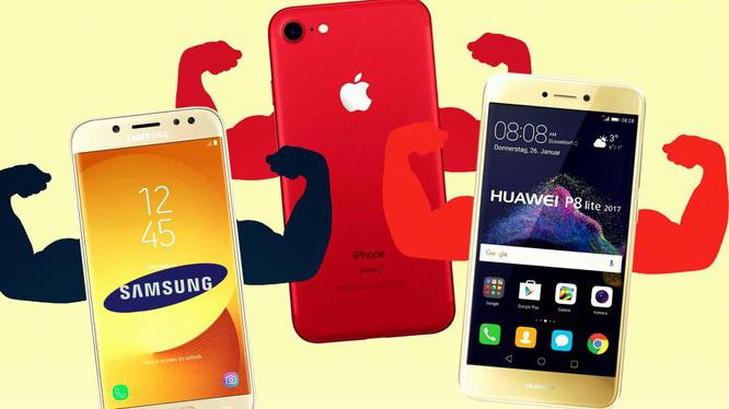 """Huawei lao đao trước """"hàm cá mập"""" Apple, Samsung - Ảnh 1."""
