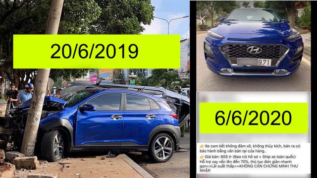 Chủ xe Hyundai Kona rao bán không đâm đụng và cái kết - Ảnh 1.
