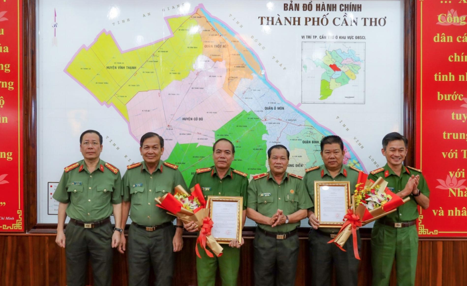 4 lãnh đạo công an vừa được bổ nhiệm cuối tuần qua - Ảnh 3.