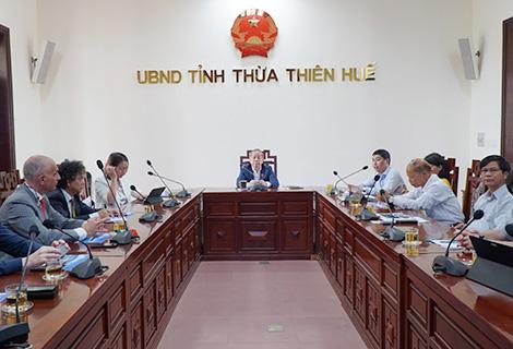 Tập đoàn năng lượng lớn của Italia khảo sát đầu tư tại Thừa Thiên Huế  - Ảnh 1.