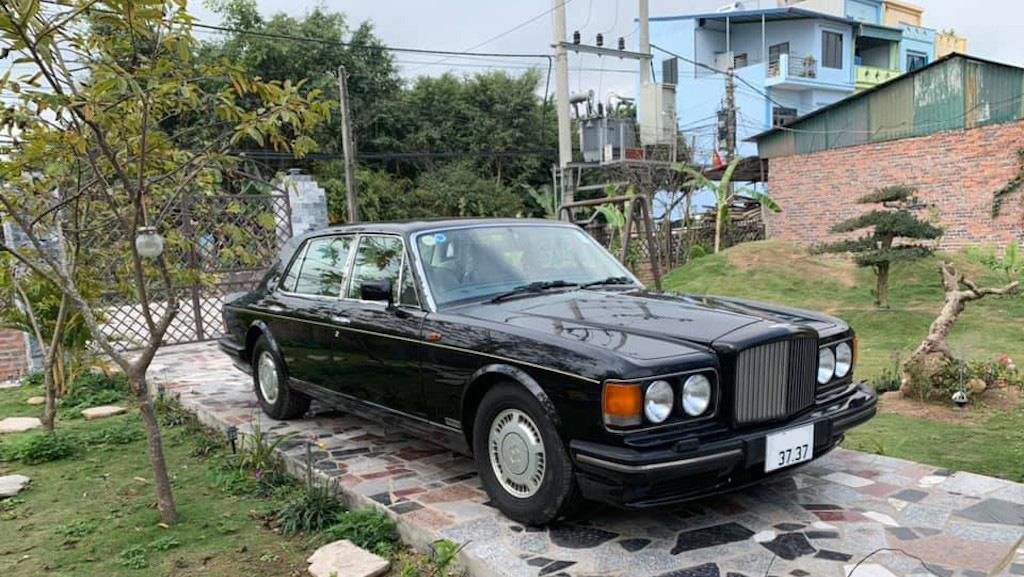 Xe sang Bentley cổ hàng hiếm của đại gia Việt vẫn có giá sốc - Ảnh 1.
