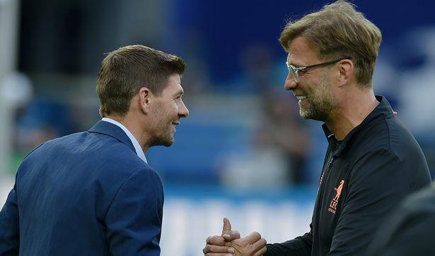 Gerrard được cơ cấu thay Klopp ở Liverpool.