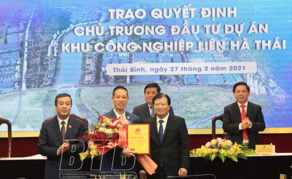 Chủ đầu tư DA khu công nghiệp đô thị gần 4 nghìn tỷ, 600ha ở Thái Bình là ai? - Ảnh 2.