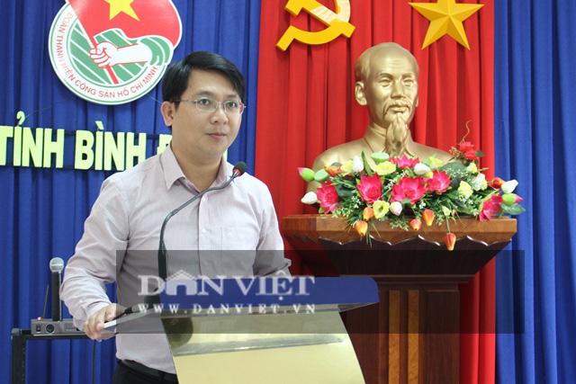 Giới thiệu Phó Bí thư Tỉnh đoàn Bình Định bầu làm Chủ tịch huyện - Ảnh 1.