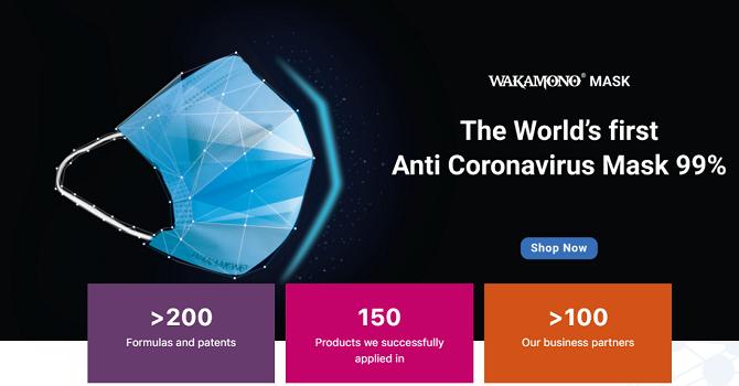 Người Việt làm khẩu trang diệt vi rút corona đầu tiên trên thế giới - Ảnh 1.