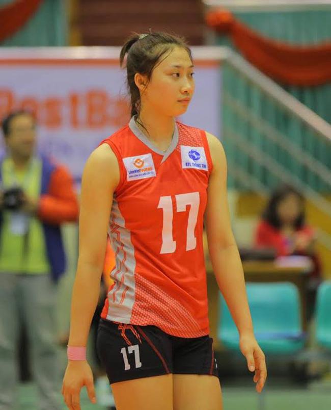 Hot girl bóng chuyền Quảng Bình 22 tuổi: Chân dài 1m75, mê trà sữa - Ảnh 11.