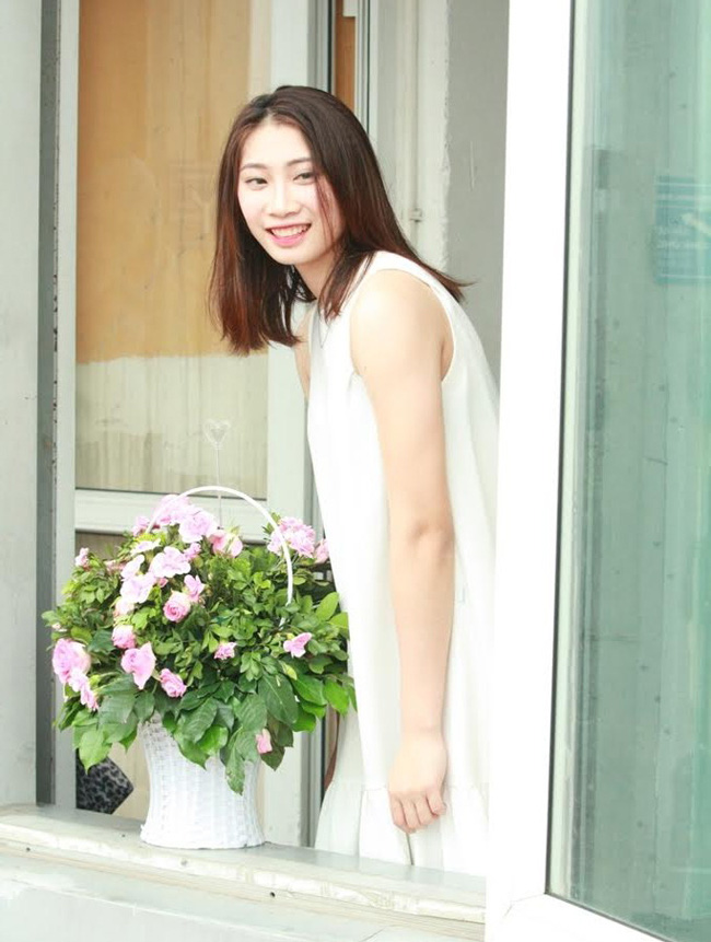 Hot girl bóng chuyền Quảng Bình 22 tuổi: Chân dài 1m75, mê trà sữa - Ảnh 16.