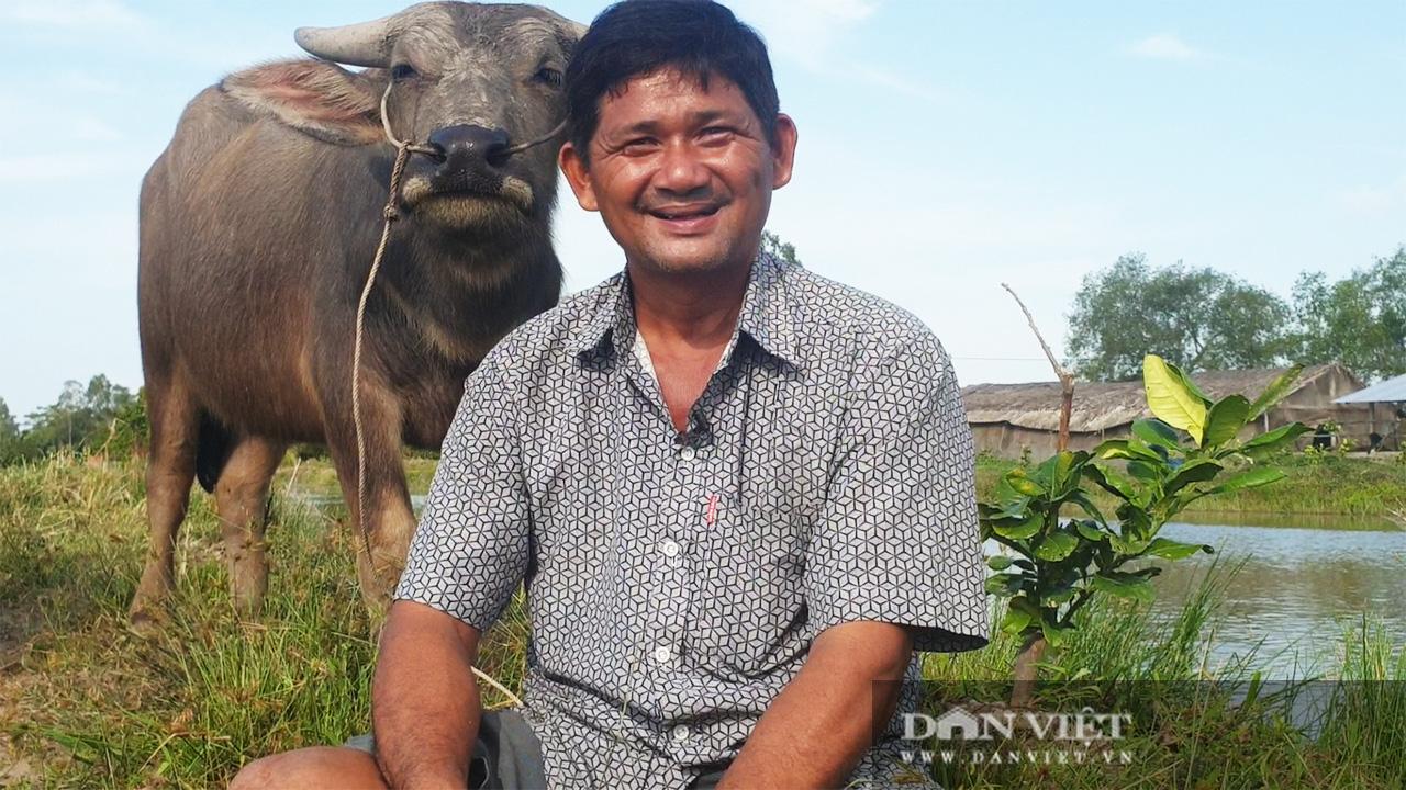 Hậu Giang: Một nông dân bán vàng cưới khởi nghiệp, 27 năm sau trở thành tỷ phú nuôi trâu, xây nhà hơn 3 tỷ đồng - Ảnh 4.